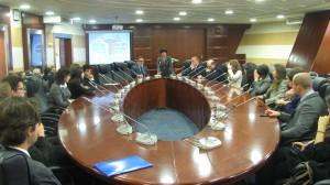 The meeting at the MGIMO University