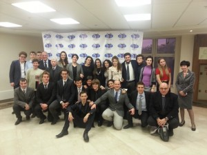The group of Opera La Pira with the friends of the University of MGIMO
